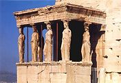 The Caryatids at the Acropolis