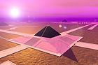 Temples of Obsidian scifi image by PlacesofLight.com