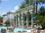 The Luxor Hotel Pool