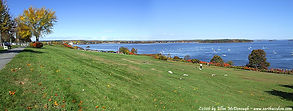 Casco Bay in Portland, Maine