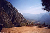 Delphi - lovely mountain view