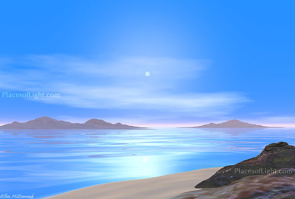 Calm Waters - Mystical serene image by PlacesofLight.com sold as art prints, wall art & more