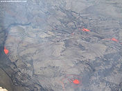 Aerial view of Hawaii Volcanoes