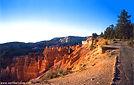 Rim Trail at Bryce Canyon in Utah