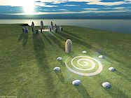 Hy-Brasil Stone Circle at the Winter Solstice