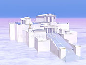 The Acropolis as it may have once looked