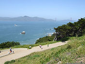 Land's End in San Francisco, California