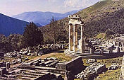 The Sanctuary of Athena at Delphi