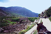 The Gap of Dunloe at the Ring of Kerry, Ireland