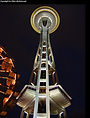 Space Needle & Seattle Center at night