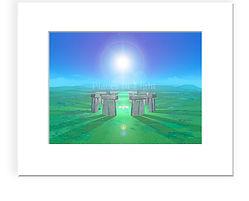 Guiding Light - mystical, inspirational image by PlacesofLight.com sold as art prints, wall art & moremystical image by Places of Light Visionary Art