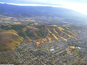 Aerial View over San Jose, California