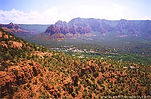 View from Airport Mesa in Sedona, Arizona