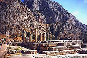 The Sanctuary of Apollo at Delphi
