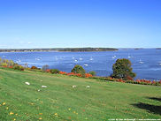 Casco Bay in Portland, Maine