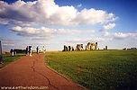 Walkway to Stonehenge