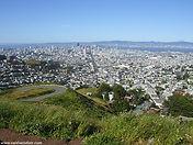 Twin Peaks in San Francisco, California