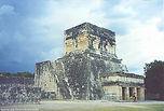 Temple of the Janguar at Chichen Itza, Mexico