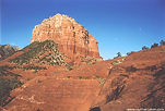 View from Bell Rock in Sedona, Arizona