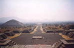 Avenue of the Dead at Teotihuacan