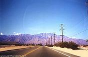 San Jacinto Mountain Range in Palm Springs, California