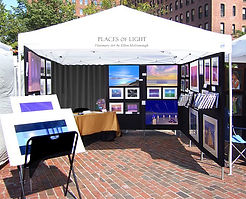 Places of Light Visionary Art - art festivals booth