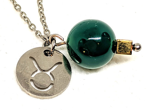 copy of Zodiac Sign Necklace- Taurus Apr 20- May 20