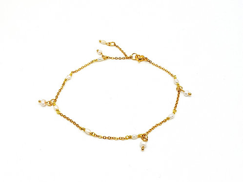 copy of Natural Water Pearls Anklet