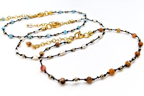 Knotted Gems Bracelet