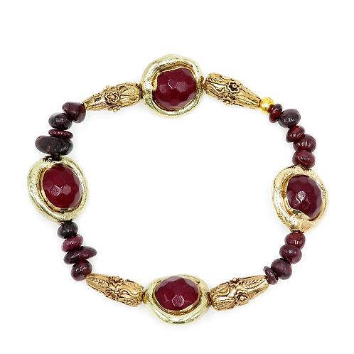 Exotic Agates Bracelet