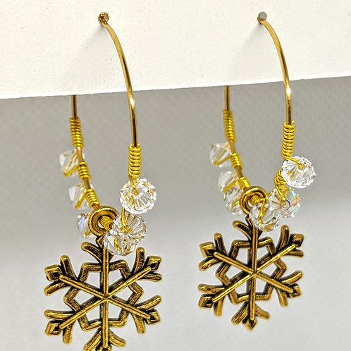 copy of Snowflake Earrings