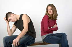 iStock - young couple argue