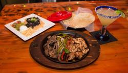 Steak and Chicken Fajita