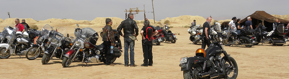 Tour on Harley Davidson Morocco
