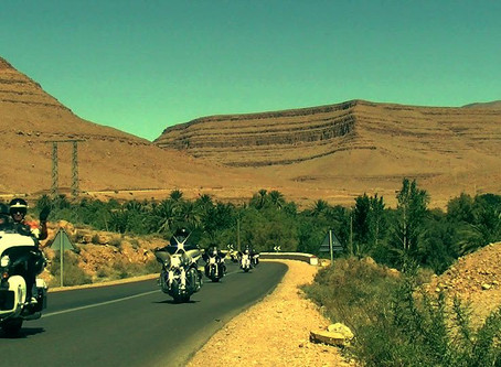 Motorcycle Tour Event in Morocco