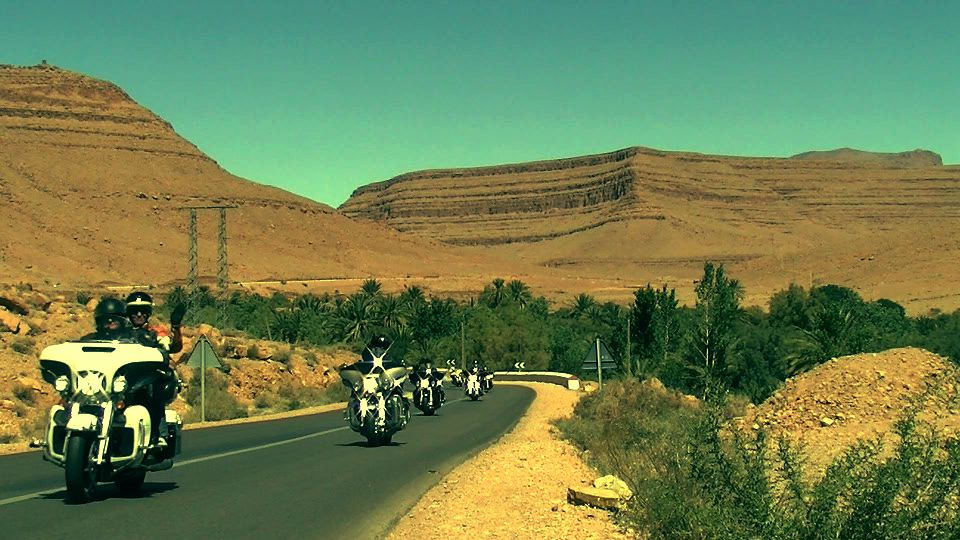 Tour on Harley Davidson with Twintour Morocco