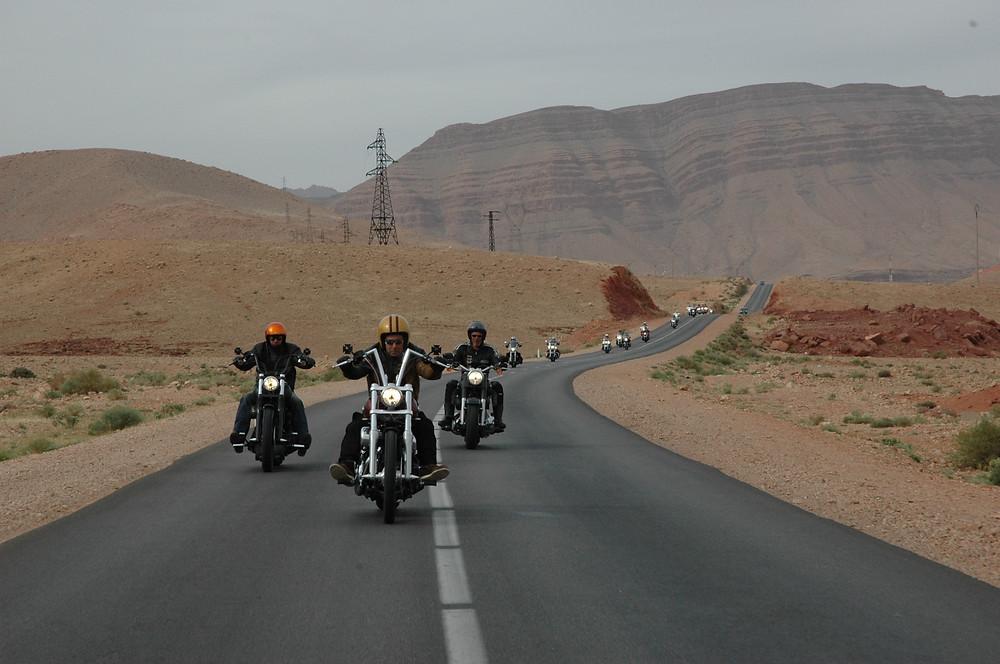 harley davidson twintour Morocco