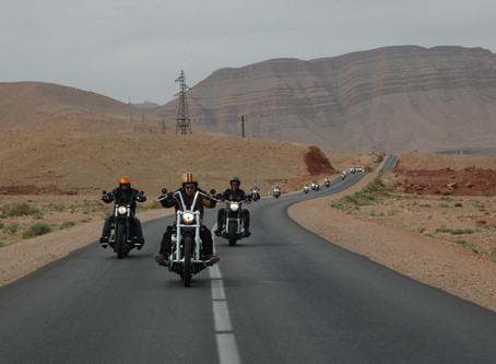 Twintour Morocco on Harley Davidson