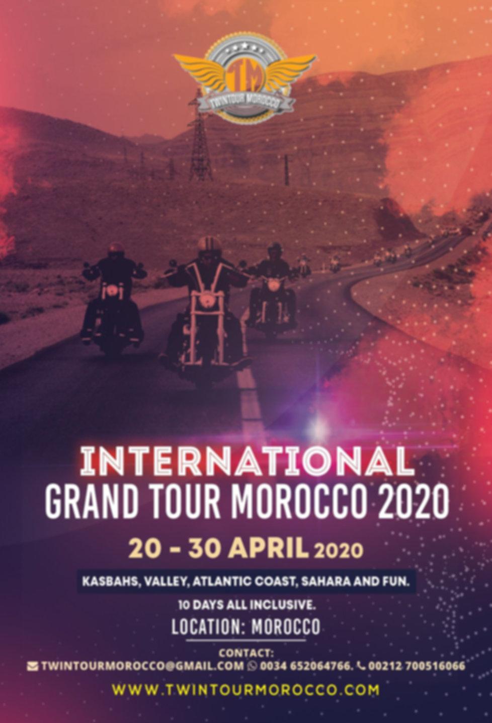 Twintour-Morocco Iternational grand tour