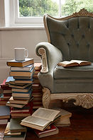 September C. Fawkes Editing Chairs and Books