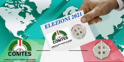 COMITES: SI VOTA IL 3 DICEMBRE 2021