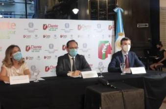 """L'Ambasciata d'Italia a Buenos Aires ha presentato """"Dante: 7 arti per 700 anni"""""""