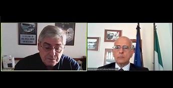MONTEVIDEO: L'AMBASCIATORE IANNUZZI INCONTRA IL PRESIDENTE TAYLER (INDDHH)