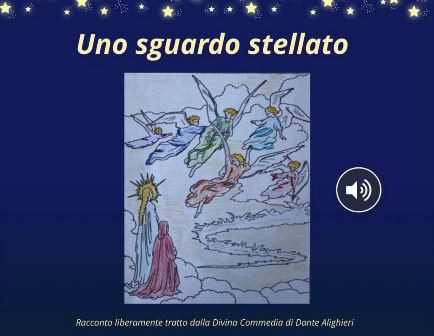 """PARIGI - Nell'ambito di """"Dante Sept Cents"""", serie di iniziative con cui Ambasciata e Consolato Generale d'Italia a Parigi celebrano il settimo centenario dalla morte di Dante Alighieri, è stato pubblicato online """"Uno sguardo stellato""""."""