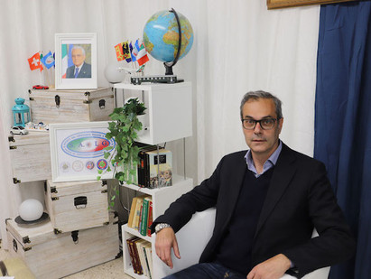 """GINEVRA - IL PROFESSOR ROBERTO MARCI AI MICROFONI DELL'""""ANGOLO DELLA NOTIZIA"""" - DI CARMELO VACCARO"""