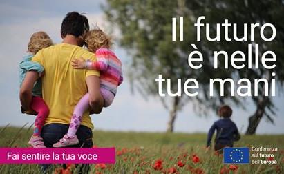 CONFERENZA SUL FUTURO DELL'EUROPA: ONLINE LA PIATTAFORMA