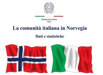 GLI ITALIANI IN NORVEGIA: IL REPORT DELL'AMBASCIATA