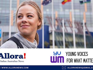 AUSTRALIA - Young Voices for What Matters: lanciato a Sydney il progetto per giovani italiani