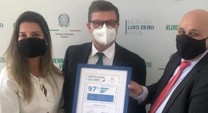 """L'Ambasciata d'Italia a Brasilia prima al mondo a ricevere la certificazione """"Zero Waste"""""""