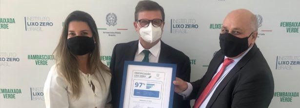 """Brasilia prima al mondo a ricevere la certificazione """"Zero Waste"""""""
